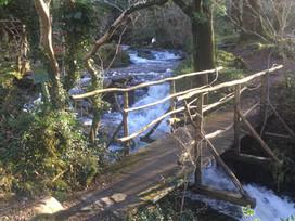 Bridge across the Fachwen