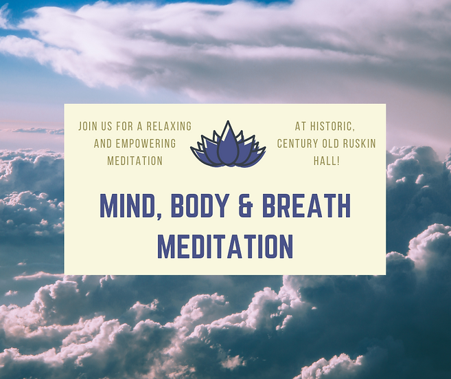 Mind, Body & Breath Meditation - Nov. 26, 2020
