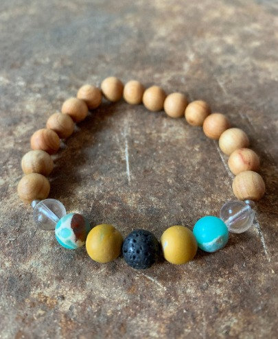 """I am at peace"" - Mala Bracelet"