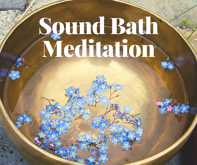 Sound Bath Meditation - September 23