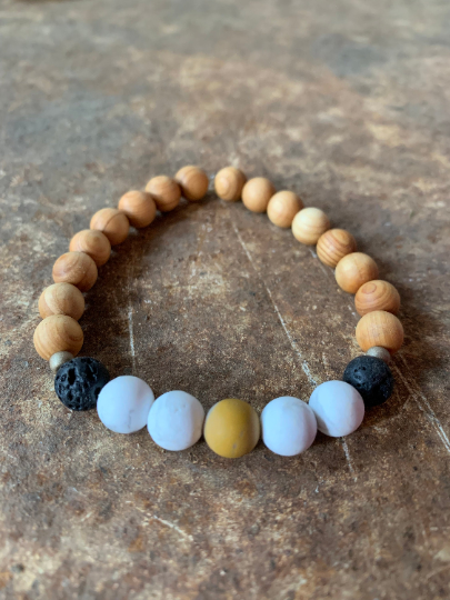 """""""I connect to my full potential"""" - Mala Bracelet"""