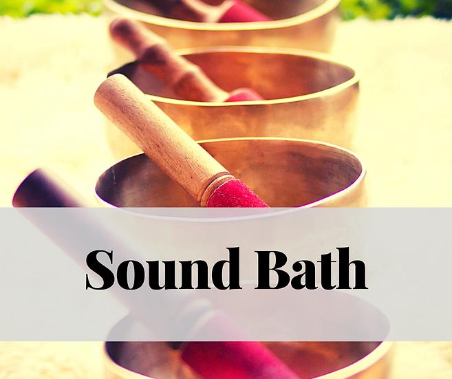 Sound Bath - Nov. 10, 2020