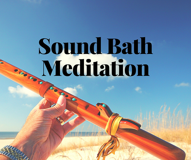 Sound Bath Meditation - October 7, 2020