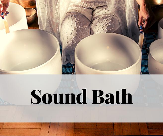 Sound Bath - Nov. 4, 2020