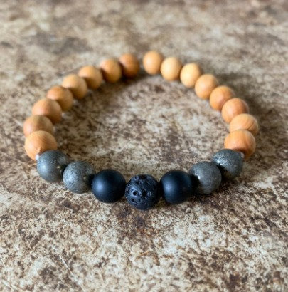 """I protect my energy"" - Mala Bracelet"