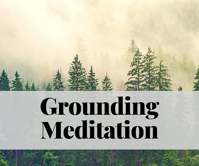 Grounding Meditation - Nov. 3, 2020