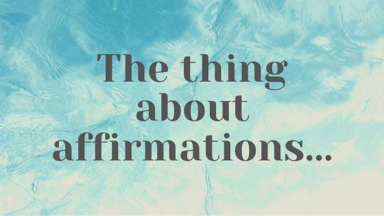 "The important thing to realize about ""I am"" affirmations!"