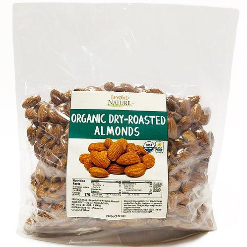 Organic Dry-Roasted Almonds