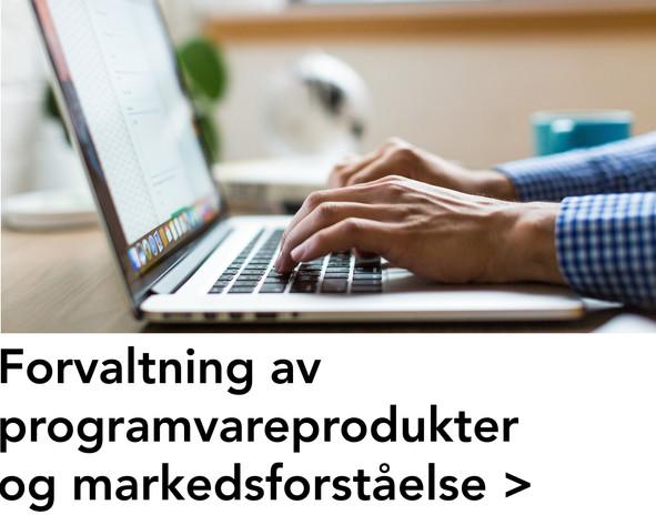 Forvaltning av programvareprodukter og m