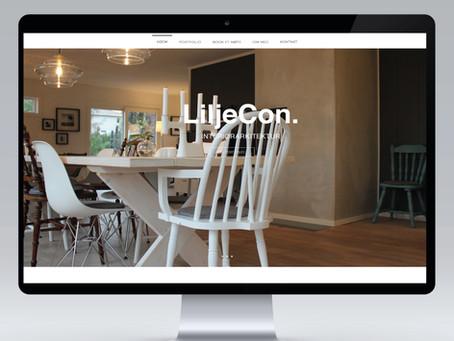 Yey!!! Liljecon interiørarkitektur på nett