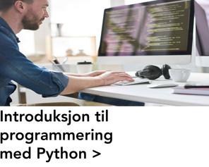 Introduksjon til programmering med Pytho