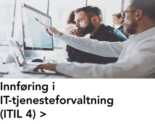 Innføring i IT-tjenesteforvaltning (ITIL
