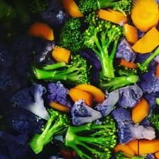 Brokkoli og gulrot