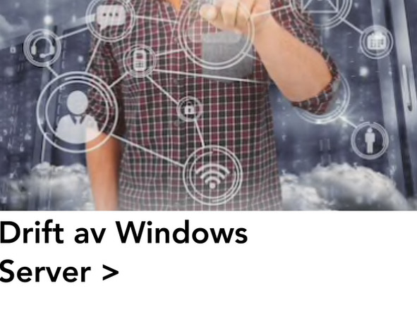 Drift av Windows Server