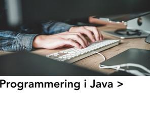 Programmering i Java