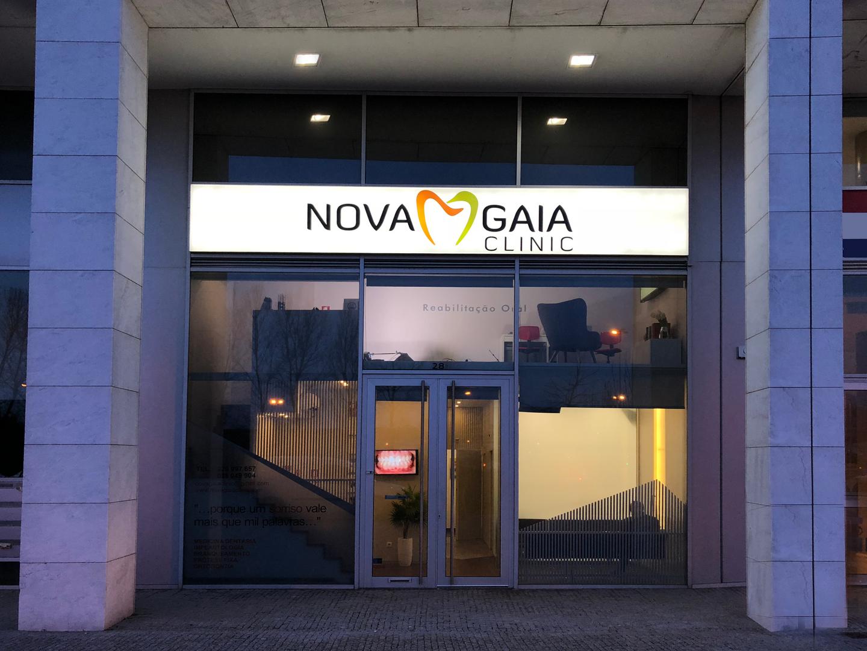 Entrada Novagaiaclinic Reabilitação Oral