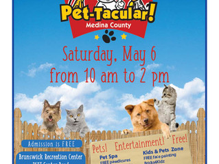 Save the Date-- Medina County Pet-Tacular