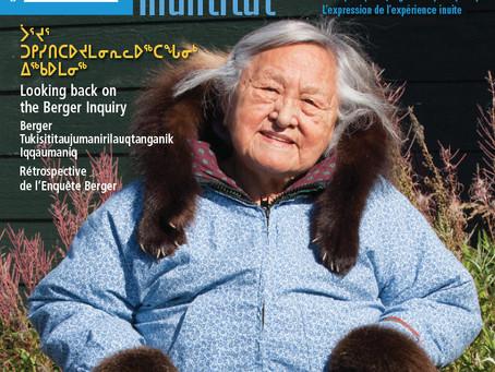 Nunamin Illihakvia featured in Inuit Tapiriit Kanatami's Inuktitut magazine
