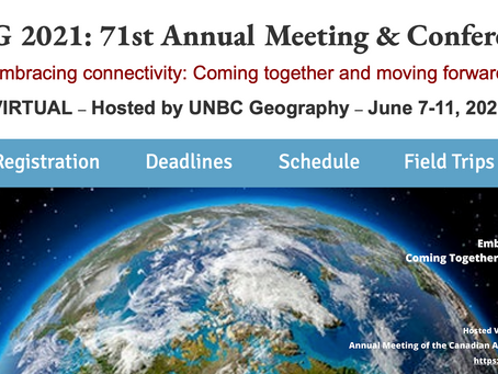 CAG 2021: 71st Annual Meeting & Conference