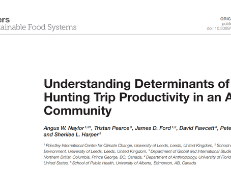 What Determines Hunting Trip Productivity in the Arctic?