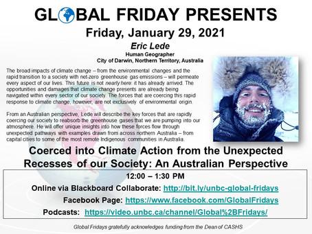 Global Friday Presents: Eric Lede