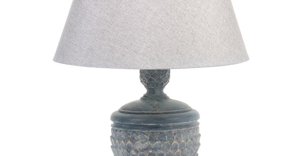 Grey Lamp and Shade