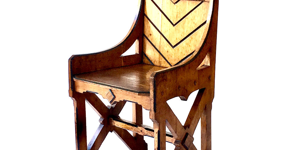 Neo-Gothic Chair