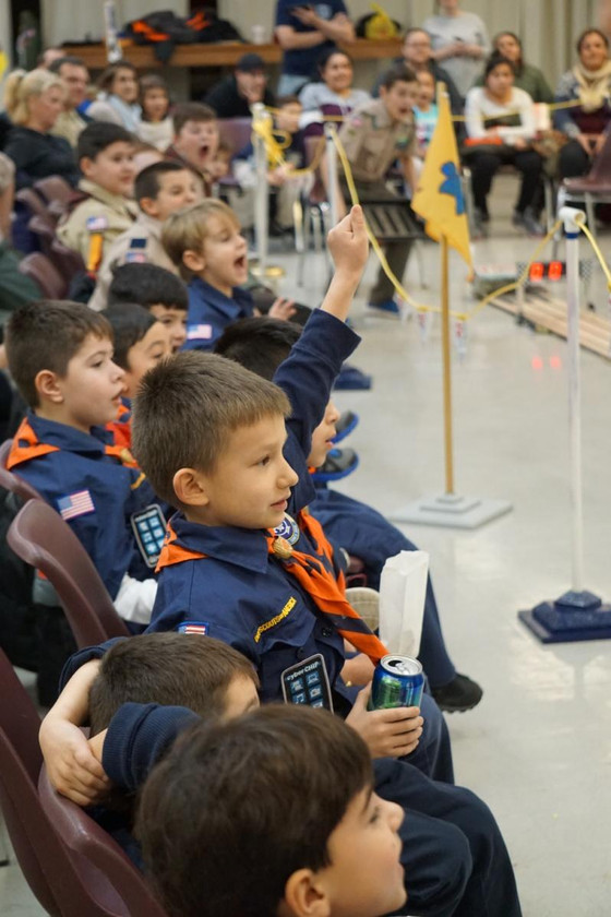 Pack 305 Pinewood Derby was #AMAZING