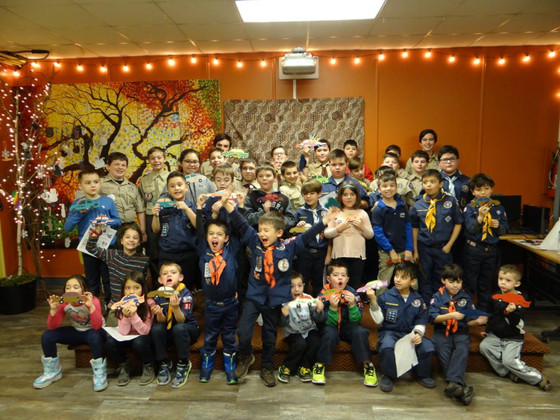 305 Scouts Tour & Explore at the Kearny Library & Museum