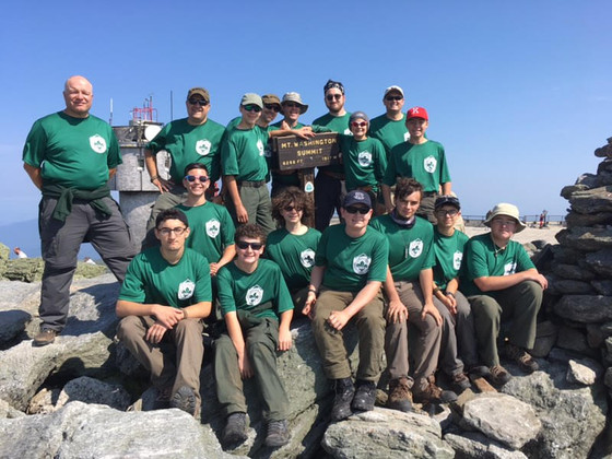 Unit 305's High Adventure Summit of Mt. Washington