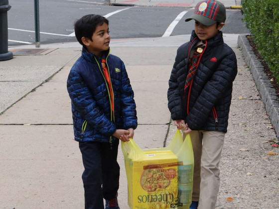 "Kearny Scouts, Unit 305 ""Scouting for Food"" Restocks Food Pantry"