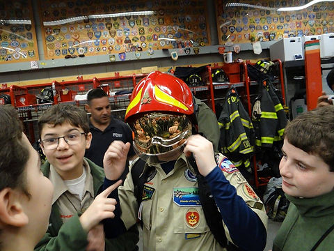 Kearny Troop 305 NYC Firehouse