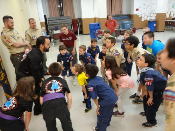 Pack 305 Learn Respect from World Martial Arts Academy, Kearny