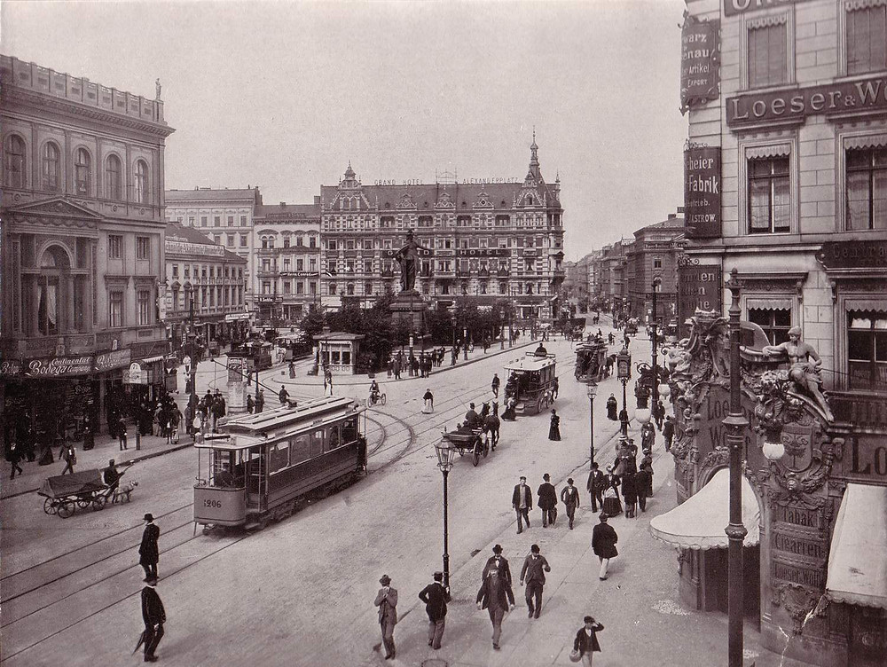 Alexanderplatz Berlin 1903