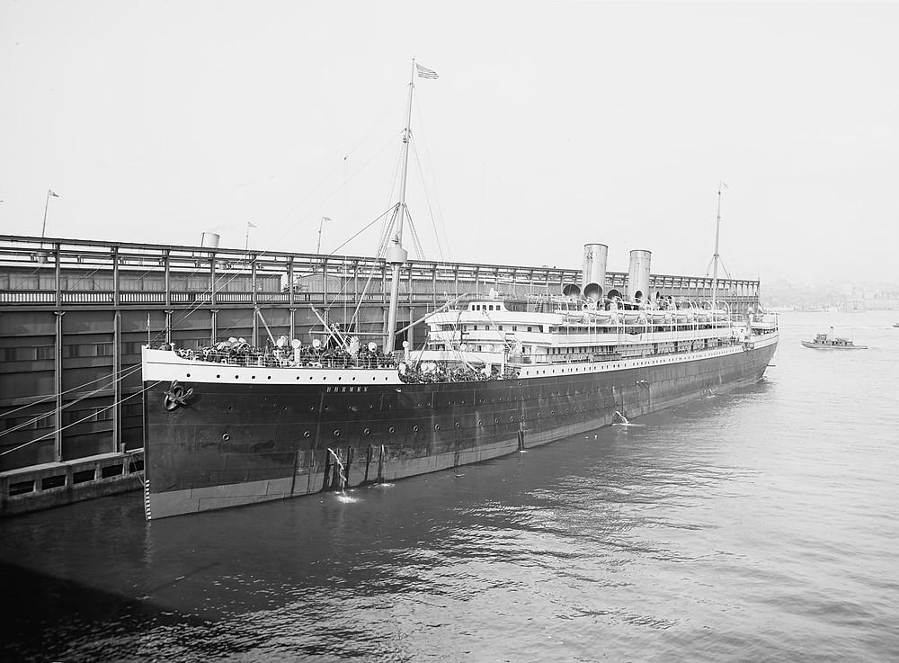 Theresa Schaal Auswanderung SS Bremen