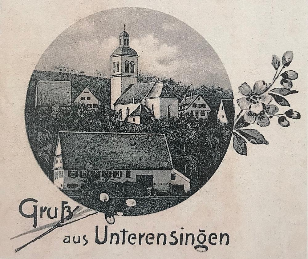 Unterensingen evangelische Kirche Nürtingen Straße In der Boide