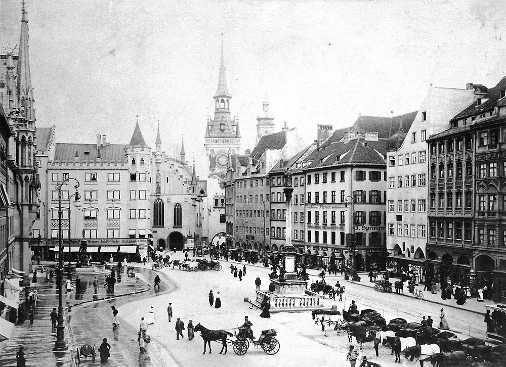 Marienplatz München Theresia Schaal