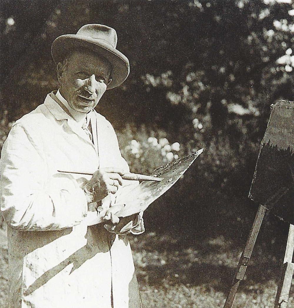 Gustav Kemmner Gemälde Malen