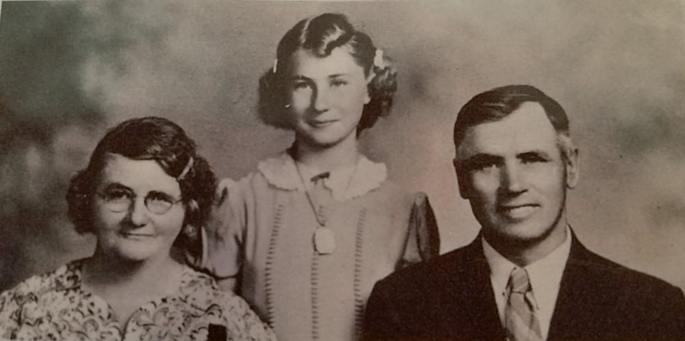 Ernest Kemmner mit Familie Elsie Gussie