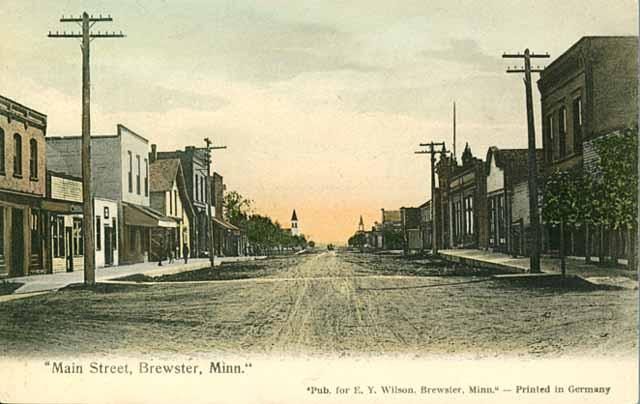 Ernest Kemmner Brewster Postkarte USA