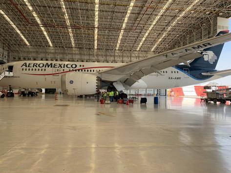 Aeroméxico vuela con biocombustible en favor del medio ambiente