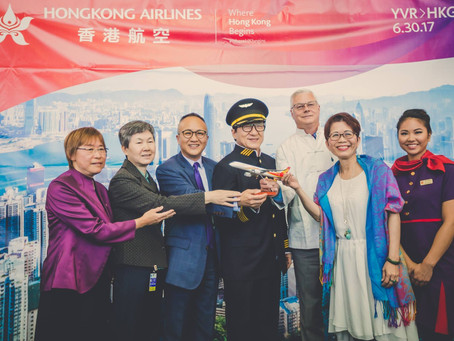 YVR da la bienvenida a Hong Kong Airlines