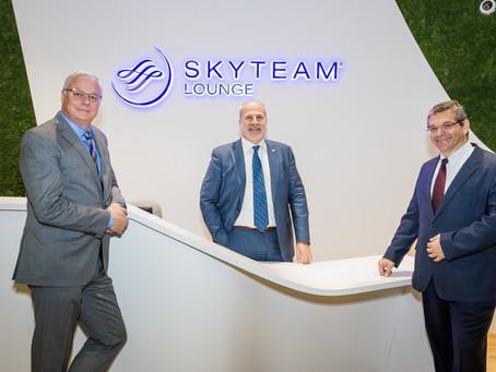 SkyTeam's Lounge apertura sala en YVR