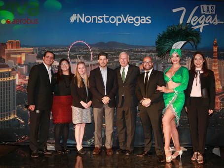 Celebra Viva Aerobus el lanzamiento de la ruta Ciudad de México-Las Vegas para impulsar la conectivi