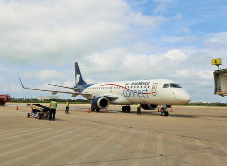Reinicia Aeroméxico operaciones en Acapulco