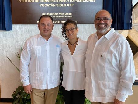 El Centro de Convenciones Yucatán Siglo XXI, a la altura de eventos de talla nacional e internaciona