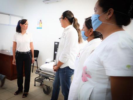 Garantiza Puerto Morelos atención en los dispensarios médicos ante COVID-19