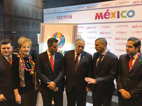 Inauguró Miguel Torruco el Pabellón de México en FITUR
