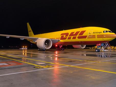 Adquiere DHL 8 aviones Boeing 777 para aumentar y modernizar su flota