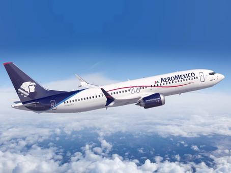 Trabaja Aeroméxico en aplicación de requisitos para viajes a Estados Unidos